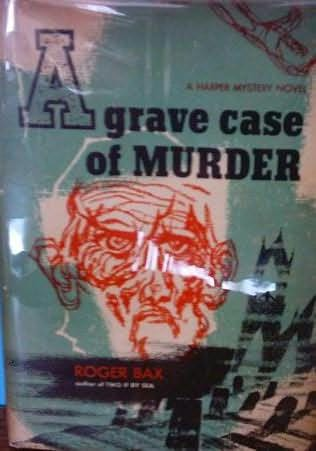 book cover of A Grave Case of Murder