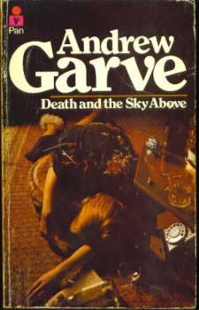 book cover of Death and the Sky Above