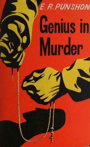 book cover of Genius in Murder