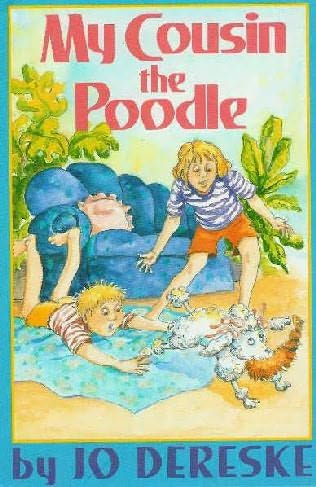 book cover of My Cousin, the Poodle