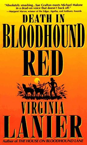 book cover of Death in Bloodhound Red