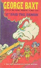 book cover of I! Said the Demon