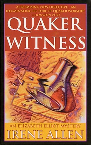 book cover of Quaker Witness