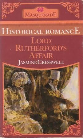 book cover of Lord Rutherford\'s Affair