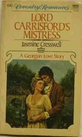 book cover of Lord Carrisford\'s Mistress