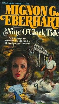 book cover of Nine O\'Clock Tide