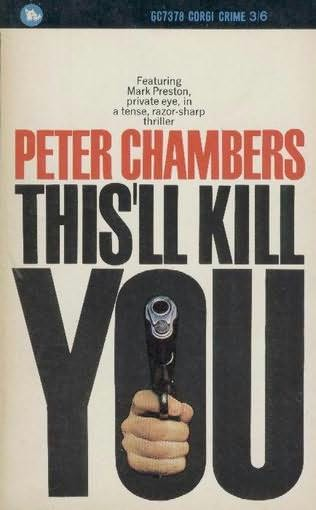 book cover of This\'ll Kill You