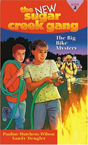 book cover of The Big Bike Mystery