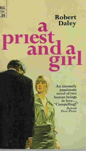 book cover of A Priest and a Girl