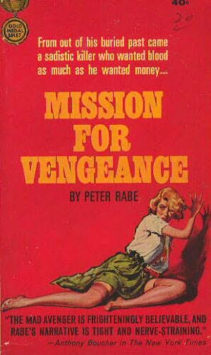 book cover of Mission for Vengeance