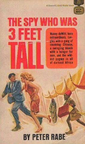 book cover of The Spy Who Was Three Feet Tall