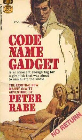 book cover of Code Name Gadget