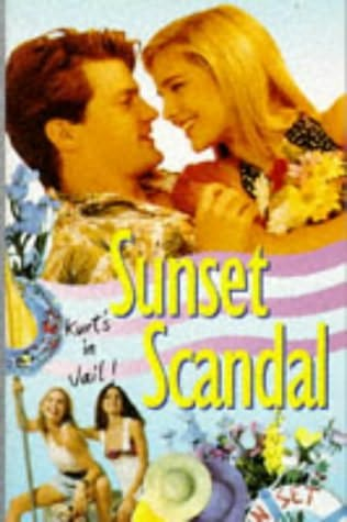 book cover of Sunset Scandal