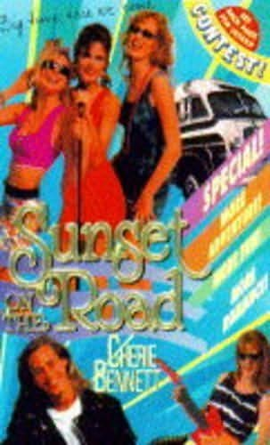 book cover of Sunset on the Road