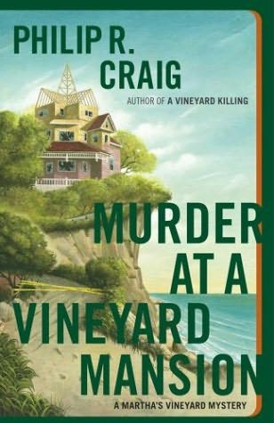 book cover of Murder at a Vineyard Mansion
