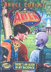 book cover of There\'s an Alien in My Backpack