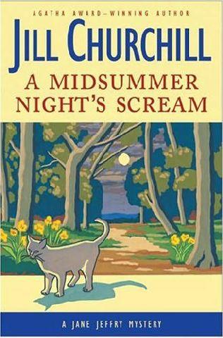 book cover of A Midsummer Night\'s Scream