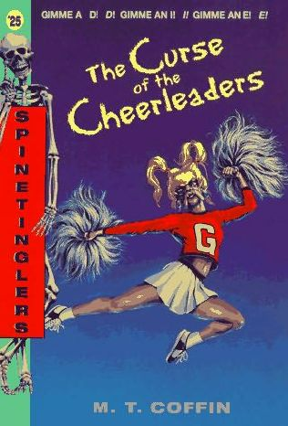 book cover of The Curse of the Cheerleaders