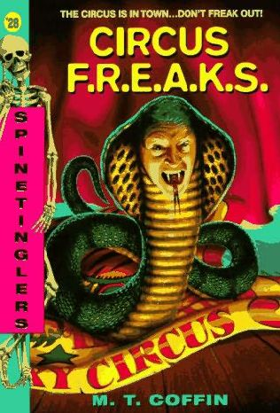 book cover of Circus F.R.E.A.K.S.
