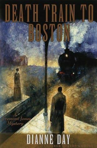 book cover of Death Train to Boston