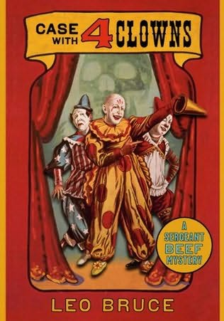 book cover of Case with Four Clowns