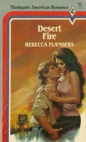book cover of Desert Fire