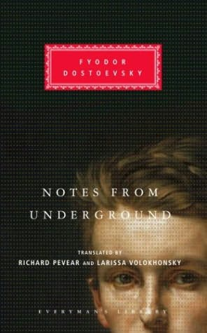 dostoevskys notes from underground essays Notes from underground feels to buy into such ideals leaves him on the fringe of society or what can be understood as what drove him underground writing style.