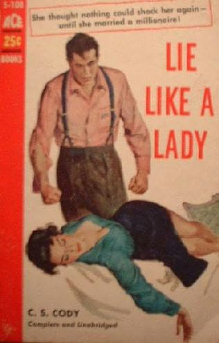 book cover of Lie Like a Lady