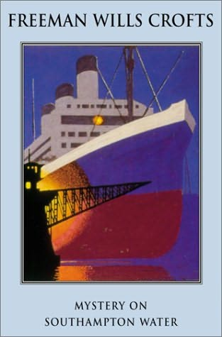 book cover of Mystery on Southampton Water
