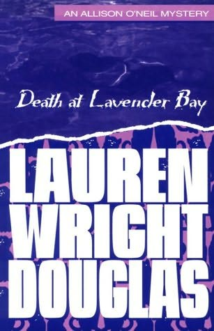 book cover of Death at Lavender Bay