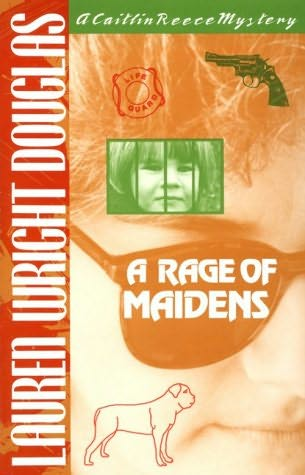 book cover of A Rage of Maidens