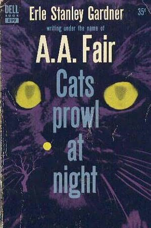 book cover of Cats Prowl at Night