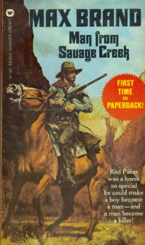 book cover of Man from Savage Creek