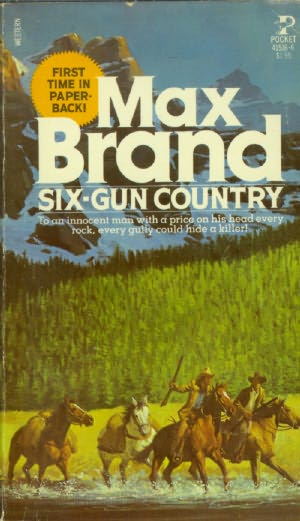 book cover of Six Gun Country
