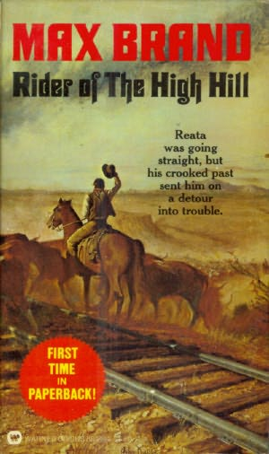book cover of Rider of the High Hill