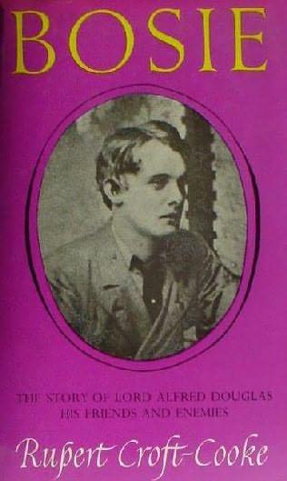 book cover of Bosie