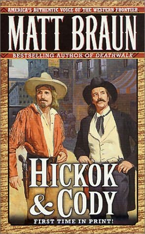 book cover of Hickok and Cody