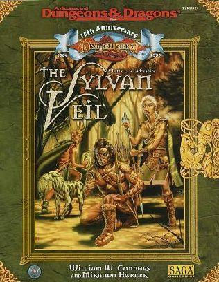 book cover of The Sylvan Veil