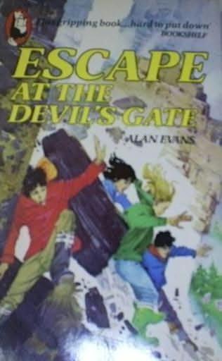 book cover of Escape at the Devil\'s Gate
