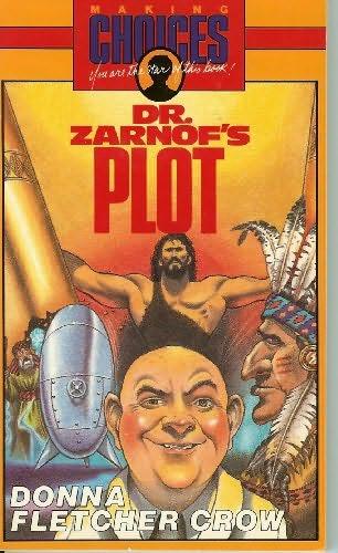 book cover of The Evil Plot of Dr. Zarnof