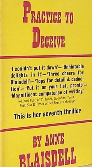 book cover of Practice to Deceive