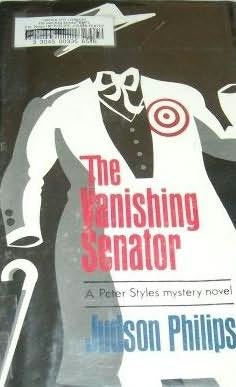 book cover of The Vanishing Senator