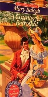 book cover of A Counterfeit Betrothal