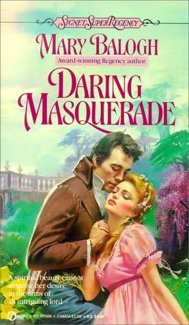 book cover of Daring Masquerade