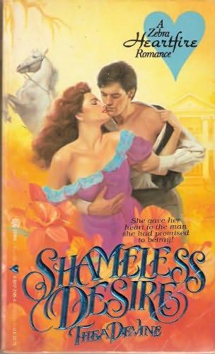 book cover of Shameless Desire