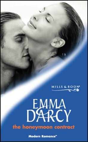 book cover of The Honeymoon Contract