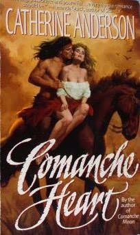 book cover of Comanche Heart