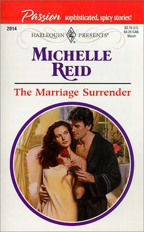 The Marriage Surrender By Michelle Reid border=