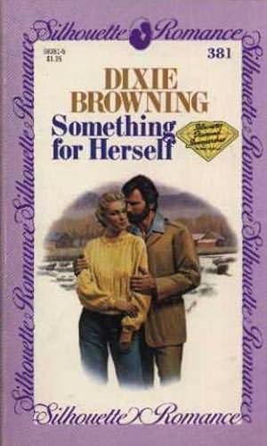 book cover of Something for Herself