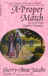 book cover of A Proper Match